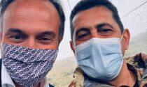 """Montagne Covid Free, il generale Figliuolo in visita a Frabosa Sottana: """"Rischio zero non esiste, vaccinatevi"""""""