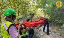 Infortuni, malori, cadute in bici e moto: giornata impegnativa per il Soccorso Alpino