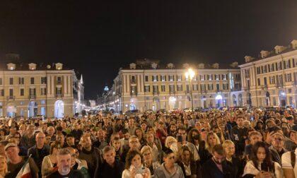 No Green Pass in piazza a Cuneo contro le politiche governative
