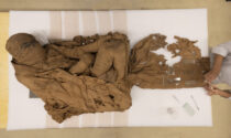 Una mummia di 4500 anni fa in mostra a Palazzo Mathis di Bra