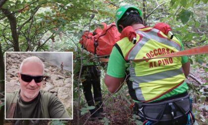 Tragedia in montagna: pescatore precipita per trecento metri e muore ai Laghi Blu